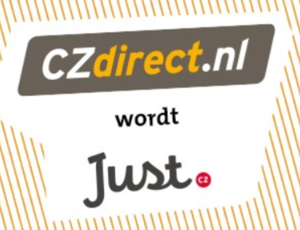 CZdirect wordt omgedoopt naar Just